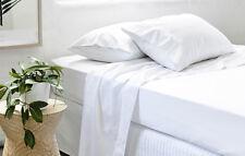 Cotton Percale Sheet Set | 300TC | Percale Weave Construction | Great Durability