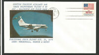 Nasa Gulfstream Air Force Base 1976 U.S.A. timbre sur lettre tampon Huston/L1370