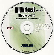 ASUS GENUINE VINTAGE ORIGINAL DISK FOR A7N8X-E Motherboard Drivers Disk M384