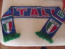 SCIARPA NAZIONALE CALCIO ITALIA AZZURRI FORZA ITALIA TRICOLORE