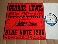 George Lewis & his LA NOUVELLE ORLEANS STOMPERS-CLIMAX RAG-LP-Blue note Japon 1983