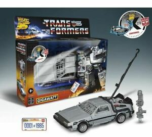 TRANSFORMERS GENERATIONS BACK TO THE FUTURE MASH UP GIGAWATT  #/1985 LIMITED
