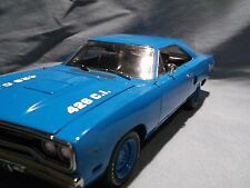 GMP 1970 PLYMOUTH ROAD RUNNER TOMS GARAGE 426 HEMI CORPORATE BLUE 1:18 ACME
