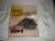 true vintage magazine from 1963 lionel trains with all accessories available
