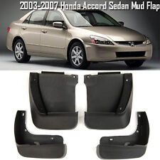 OE Front Rear set 4 Pcs Splash Mud Guards Flaps For 03-07 Honda Accord Sedan