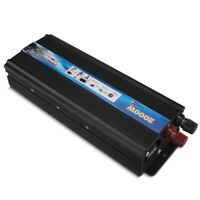 2000W Car Power Inverter DC 12V/24V To AC 110V/220V Outlets RV Solar Converter
