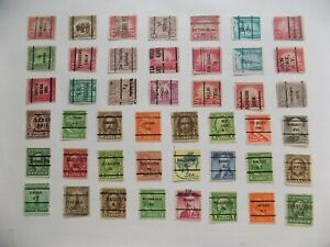 U S   Collection of all used PRECANCEL DEFINITIVES -7-22-E--We combine shipping
