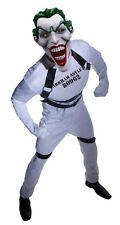 """New Mens Super Villans The Joker Costume Mens Standard chest to 44"""""""