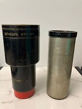 Cine Projection lens lot of two. Kollmorgen. Ross London. Vintage. No Reserve.