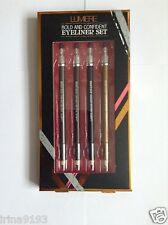 LUMIERE audace e sicuro 4 x Eyeliner Set Regalo Set + sacchetto regalo gratuito