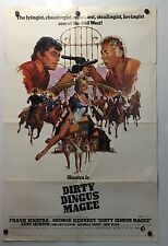 DIRTY DINGUS MAGEE MOVIE POSTER(1971)