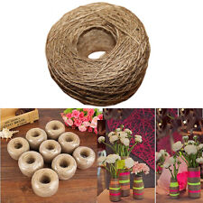 """1 Roll 100M Natural Jute Twine Rope String Cord Craft Making Scrapbooking Decor"""""""