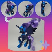 "❤️My Little Pony 5"" Brushable NIGHTMARE MOON Princess Luna Glitter Alicorn G4❤️"
