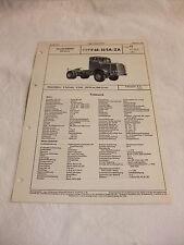 Werbung Reklame VDA-Typenblatt Oldtimer Datenblatt LKW FAUN F 68-36 SA-ZA 1955