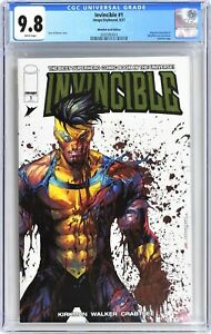 INVINCIBLE #1 Image/Skybound CGC 9.8 NM/MT (2021) WhatNot GOLD FOIL EDITION