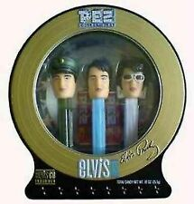 Elvis Presley Limited Edition Pez Dispensers With CD 2day Ship