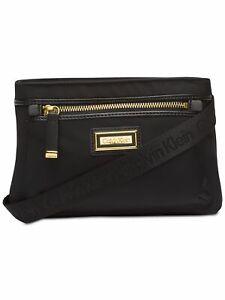 CALVIN KLEIN Black Crossbody Handbag Purse