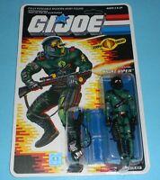 1989 GI Joe Night Viper Figure Complete Sealed MOC *CUSTOM* File Card Back *READ