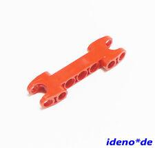 lego bionicle 1 Unidades Brazo de elevación 2x Bola Cabeza Soporte Rojo 50898
