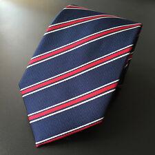 Fashion 8CM Classic Men Ties Silk Necktie Neck Tie Wedding Red Stripe Handmade