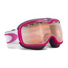Oakley STOCKHOLM Jewel Pink Blue Iridium Womens Snow Ski Goggles+Lens Cleaner