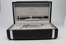 Tibaldi by Montegrappa New York Black IP Gun Fountain Pen TP020-FPBK-RH