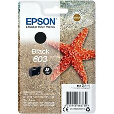 Cartuccia Epson 603 stella marina nero originale