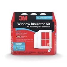 3M Window Insulator Kit 5 - 3X5 Windows Clear Insulation & Scotch Mounting Tape