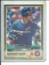 Anthony Rizzo  2015 Topps series 1 Gold Parallel  (0150/2015)  card # 47
