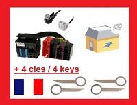 ADAPTATEUR AUDI RNS E A3 A4 A6 TT ISO FAKRA - CONCERT - PLUG AND PLAY + cles