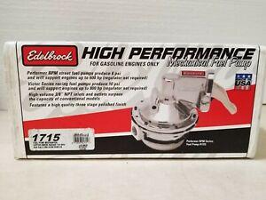Edelbrock 1715 Victor Series Racing Fuel Pump Ford 289/302/351W 10psi 110gph