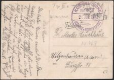 GERMANY, 1917. Feldpost Photo Card Marine No.467, S.M.S. Wittelsbach