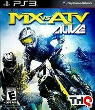 MX vs. ATV Alive PS3 NEW! MOTORCROSS, FOUR WHEELER, DIRT, MUD, MTX, BIKES, RACE