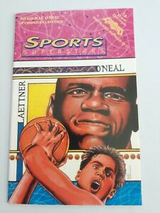 August 1993 # 16 Sports Superstars Comics Shaquille O'Neal & Christian Laettner