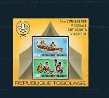 Togo bloc  conférence boy scouts en Afrique    de 1973    num:  69   **