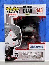 Walking Dead Funko Teks Custom Daryl Dixon Bloody OOAK Vinyl Figure 145 Reedus C