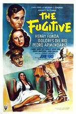 henry FONDA dolores DEL RIO THE FUGITIVE classic movie poster 1947 24X36 HOT