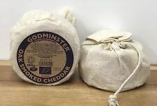 Godminster Certified Organic Oak Smoked Cheddar Cheese 2 X 200g Christmas