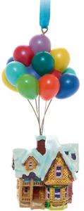Disney UP Festive Hanging Ornament Carls House  Balloons Decor New