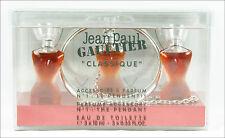 ღ ACCESSOIRE A PARFUM N°1 LE PENDENTIF - Gaultier - Miniatur 3x EDT 3x 10ml