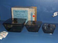 Vintage Mid Century Modern David Douglas Astrolene Nesting Bowl Set NIB