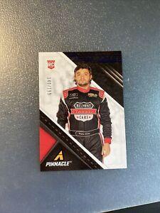 2021 Panini Chronicles Racing Nascar BLUE PINNACLE Card BAYLEY CURREY 140/199