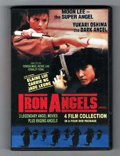 Moon Lee & Yukari Oshima IRON ANGELS 4 Actioner Film Collection w/English subs