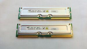 Samsung 256 MB RIMM 800 MHz RDRAM Memory (MR16R082GBN1-CK8)