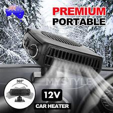 Portable Car Vehicle Ceramic Heating Heater Fan Defroster Demister DC 12V 7P AU