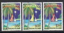 Cocos (Keeling) Gomma integra, non linguellato 1989 SG211-13 di Natale
