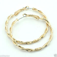 Handmade Alloy Hoop Fashion Earrings