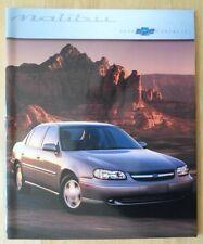 CHEVROLET Malibu 2000 range USA Mkt glossy deluxe brochure catalog - LS