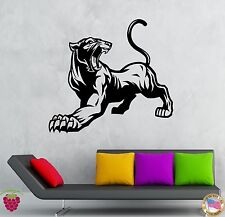 Wall Stickers Vinyl Decal Animal Panther Cougar Predator Decor  (z1952)