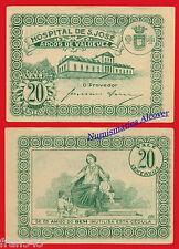 PORTUGAL ARCOS DE VALDEVEZ HOSPITAL SAN JOSE 20 centavos 1920  SC-   /  aUNC